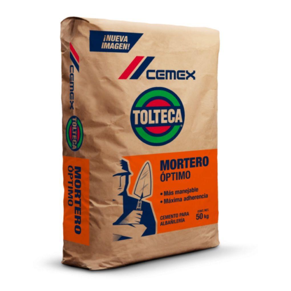 BULTO MORTERO TOLTECA 50KG