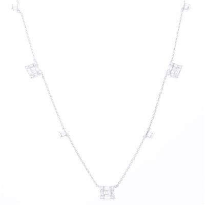 Collar 3 Cluster 0.83ct.