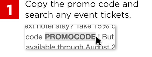 Copy promo code TICKETS10