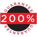 200% Guarantee Seal