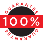100% Guarantee Seal
