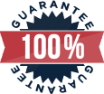 Our tickets are backed by a 100% guarantee