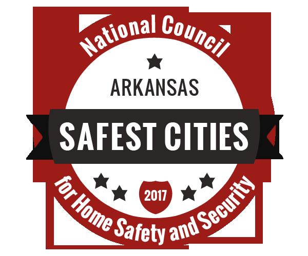 The 50 Safest Cities in Arkansas, 2017