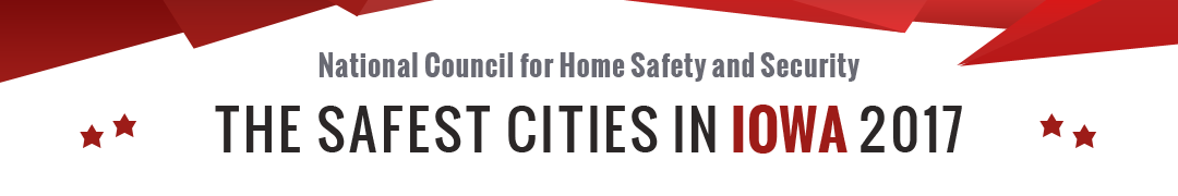 Safest Cities in Iowa