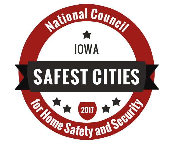 The 50 Safest Cities in Iowa