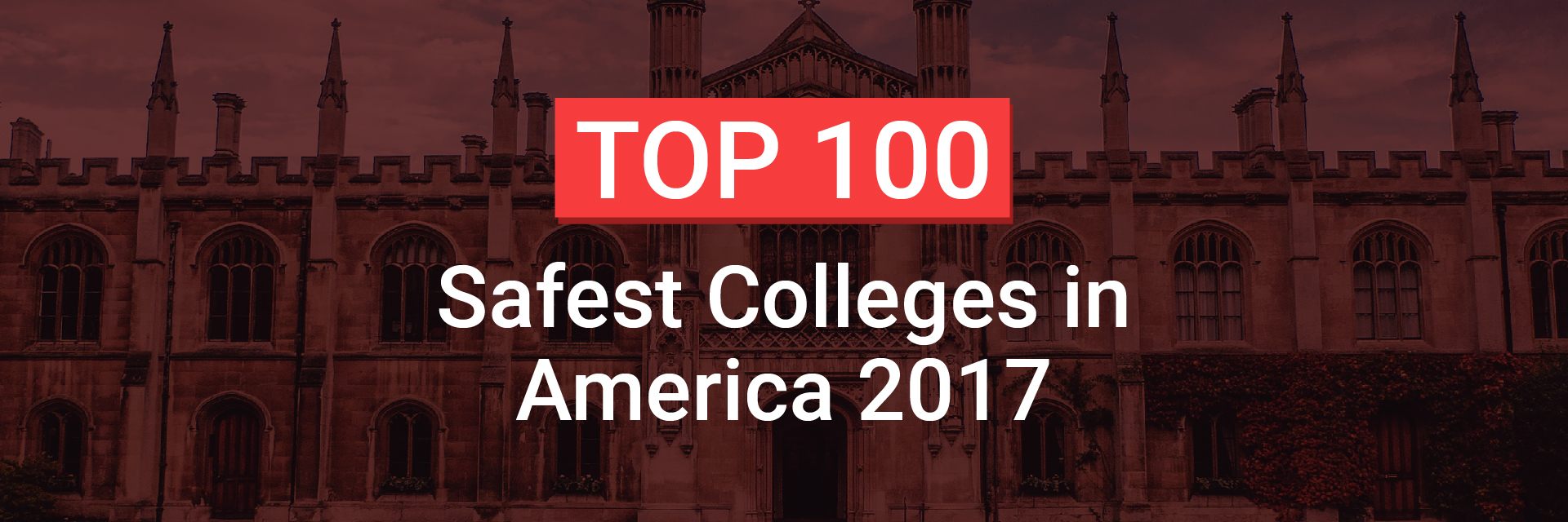 Top 100 Safest Colleges In America National Council For Home