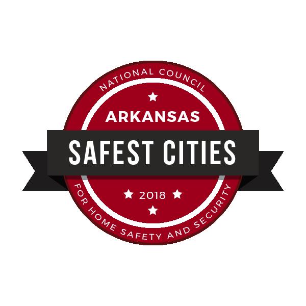 Safest Cities in Arkansas, 2018