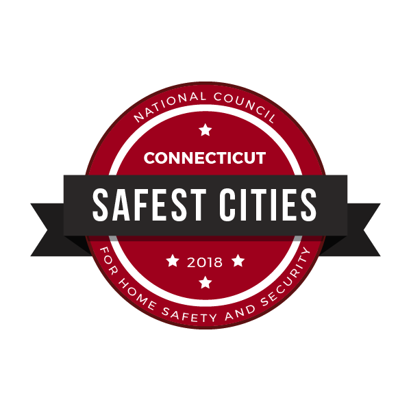 Safest Cities in Connecticut, 2018