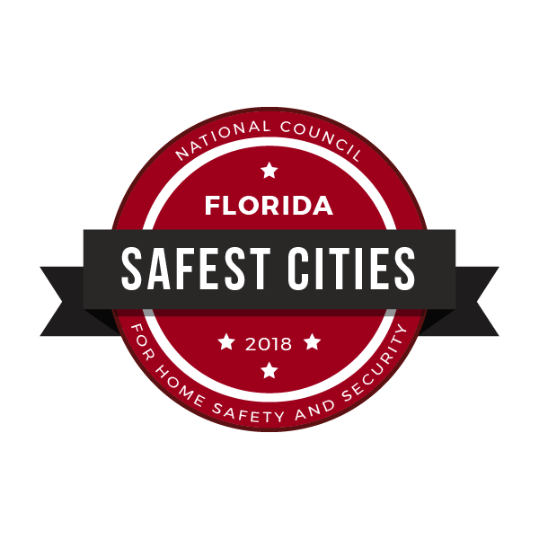 Safest Cities in Florida, 2018
