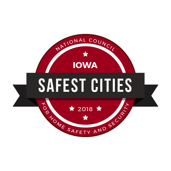 safe cities badge_Iowa
