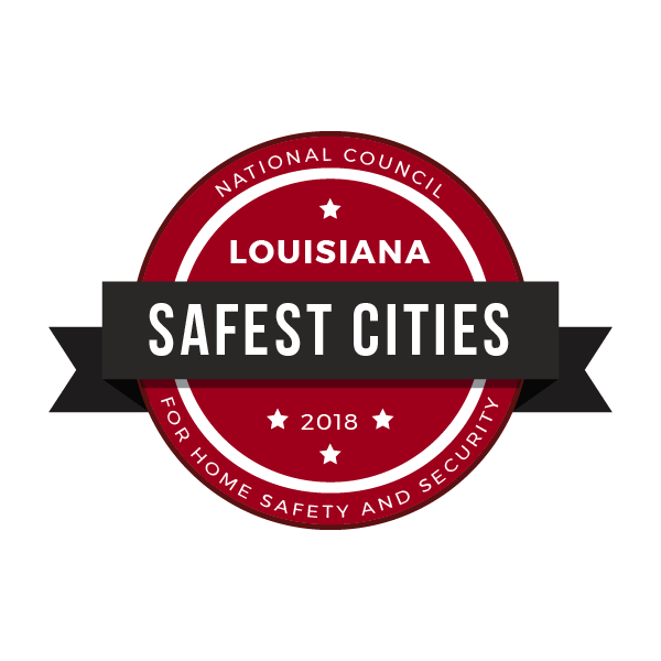 Safest Cities in Louisiana, 2018