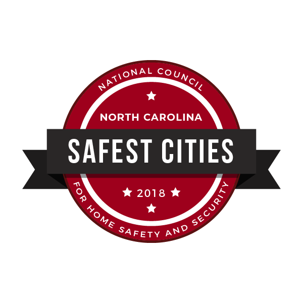 safe cities badge north carolina