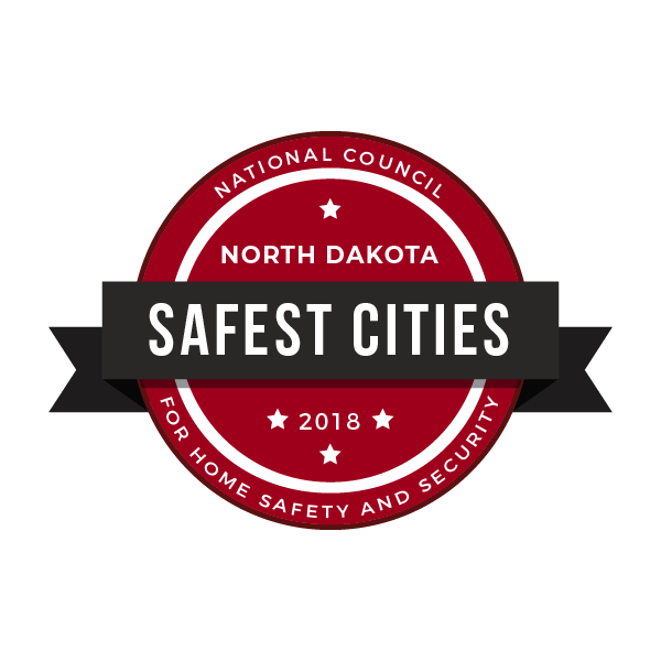 safe cities badge north dakota