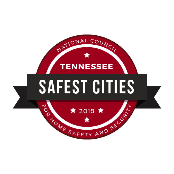 Safest Cities in Tennessee, 2018