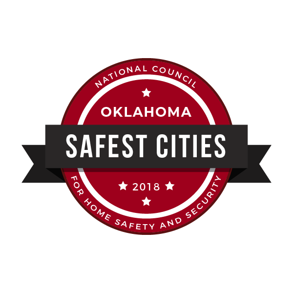 Safest Cities in Oklahoma, 2018