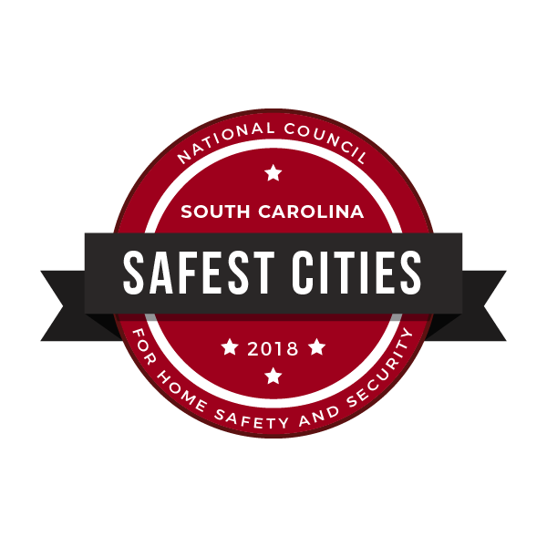 safe cities bagde south carolina