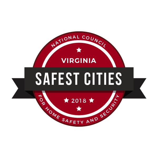safe cities badge virginia