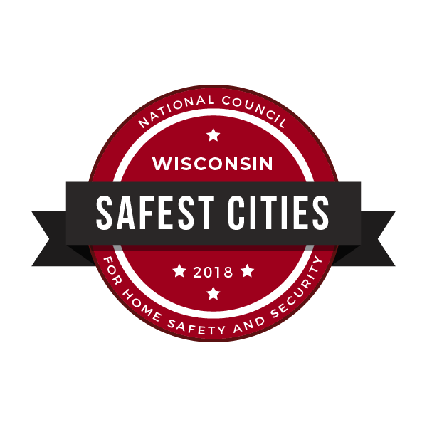 Safest Cities in Wisconsin, 2018