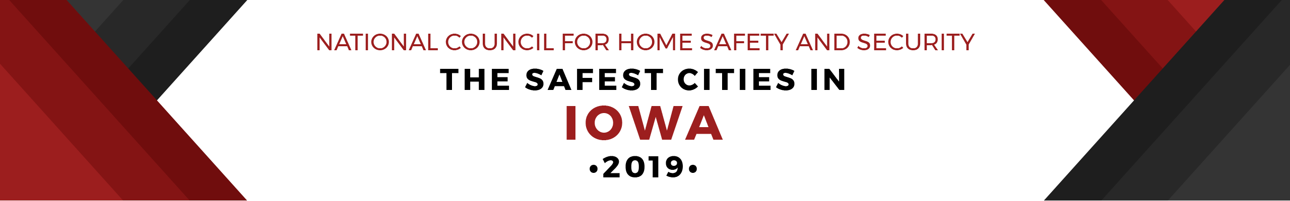 Safest Cities Iowa - header