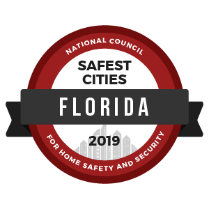 Safest Cities Florida - badge
