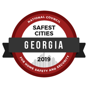 Safest Cities Georgia - badge