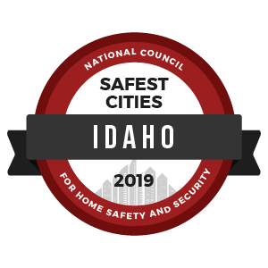 Safest Cities Idaho - badge