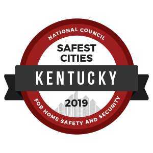 Safest Cities Kentucky - badge