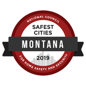 Safest Cities Montana - badge