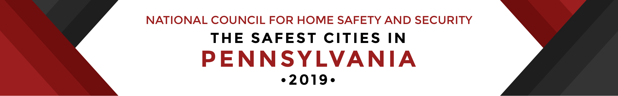 Safest Cities in Pennsylvania, 2019 | National Council For