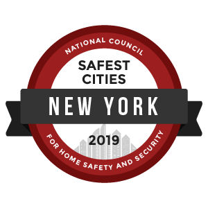 Safest Cities New York - badge
