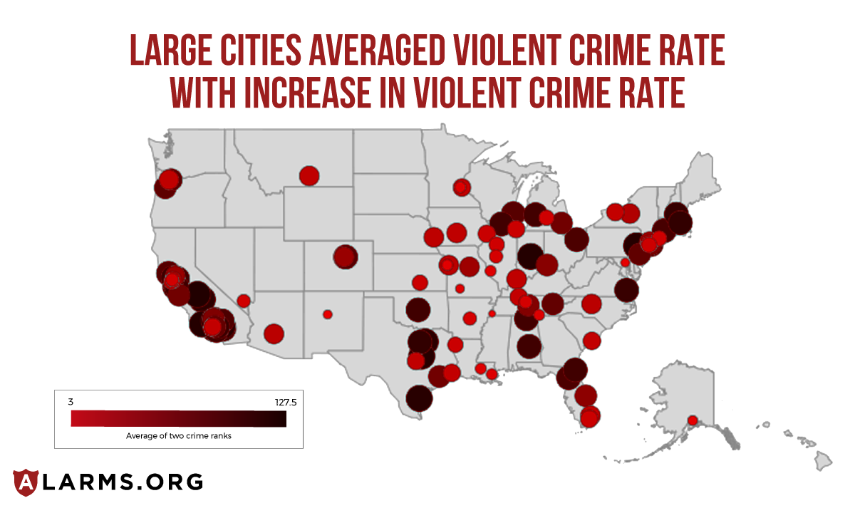 Top 100 Most Dangerous Cities in America | National Council For Home