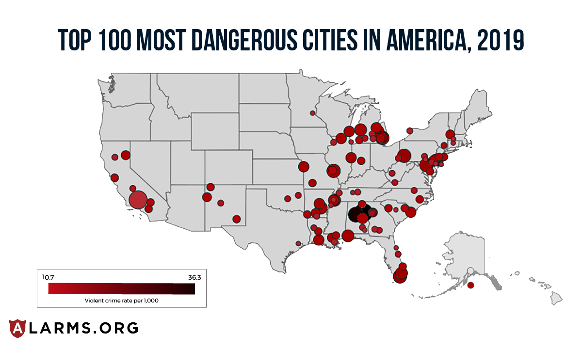 MostDangerousCIties-heatmap 1