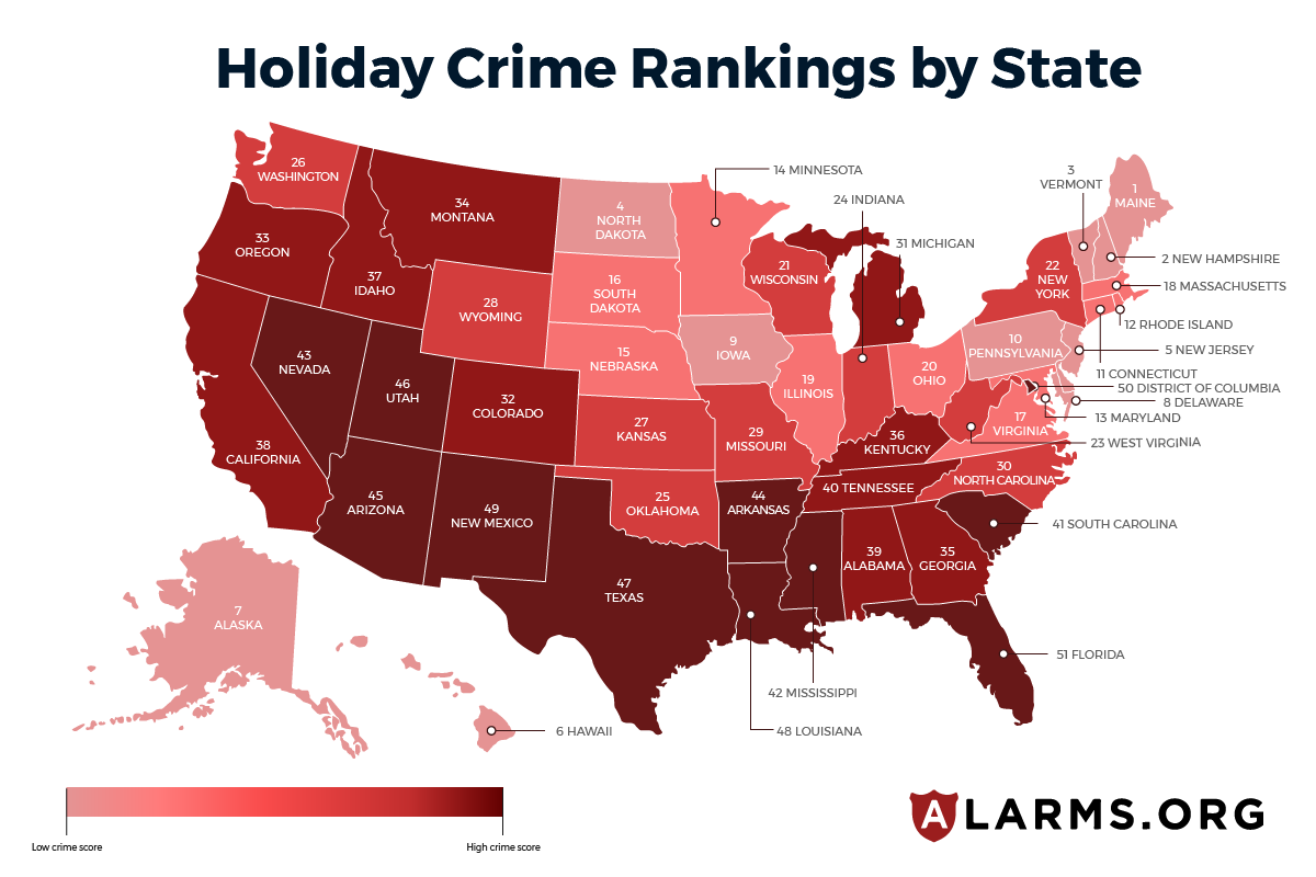 Holiday Crime Heatmap