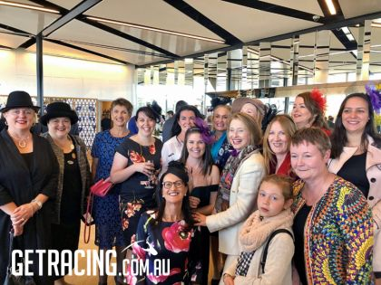 Girls Having Fun with GAI at Randwick