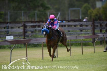 Out in front by 6 lengths