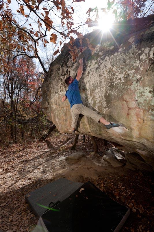 Kyle Fisher climbs 'Ghetto Superstar' V8