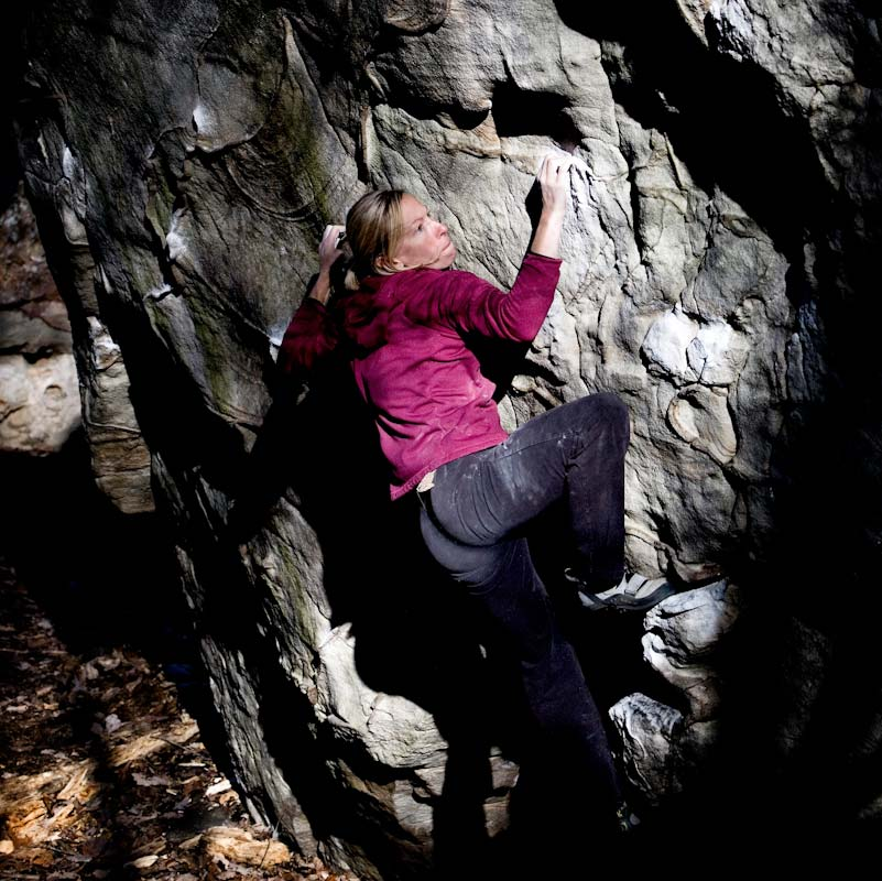Lindsay Gasch on 'The Comet' V5