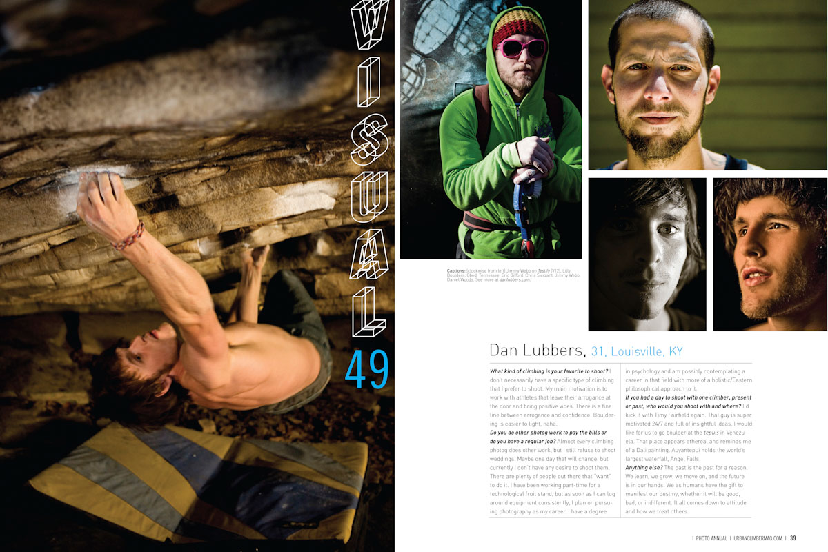 Article in Urban Climber Magazine
