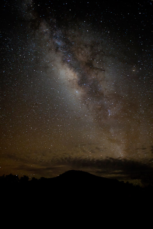 The Milky Way seen at 9000ft.