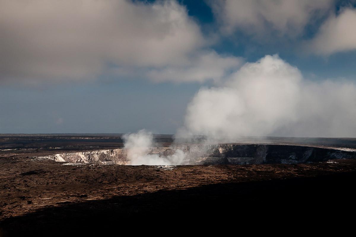 The Kilauea Crater