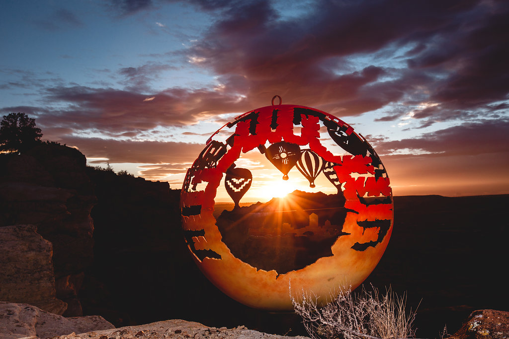 New Mexico theme Fire Pit