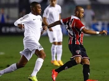 O Santos passou com facilidade pelo São Paulo nas semifinais do Paulista