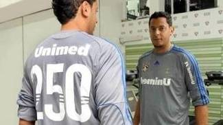 Fernando Henrique Camisa 250 Jogos Fluminense 14/07/2010
