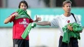 Waldemar Lemos Luizão Treino Flamengo 05/05/2006