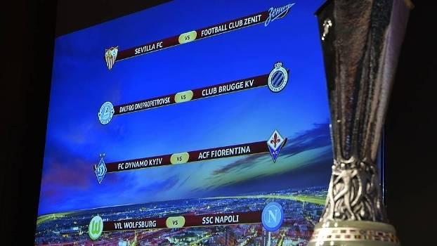 Sorteio colocou os quatro melhores times da Liga Europa frente a frente