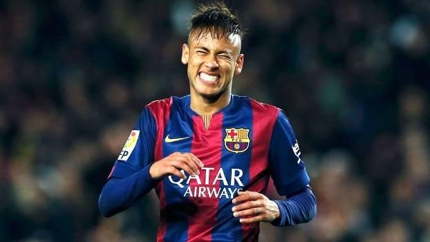Neymar Lamenta Barcelona Real Madrid Campeonato Espanhol 22/03/2015
