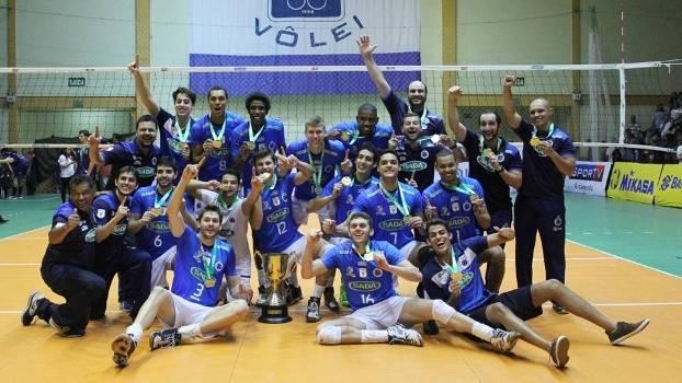 Time B do Cruzeiro foi campeão da Superliga B