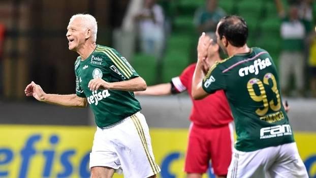 Ademir da Guia Palmeiras Arena Edmundo Amigos do Alex despedida