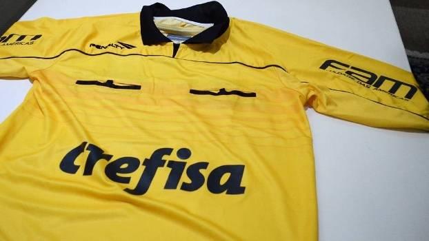 Camisa Crefisa Arbitragem FPF
