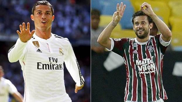 MOSAICO Cristiano Ronaldo Fred